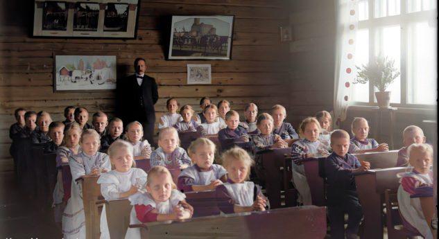 """""""Takaisin kouluun"""" -koulukuvakilpailu MyHeritagessa!"""